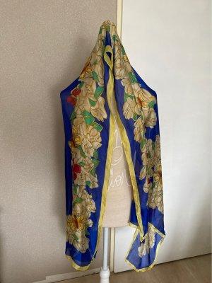 no name Silk Cloth blue