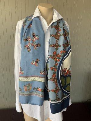 Hand made Silk Cloth multicolored