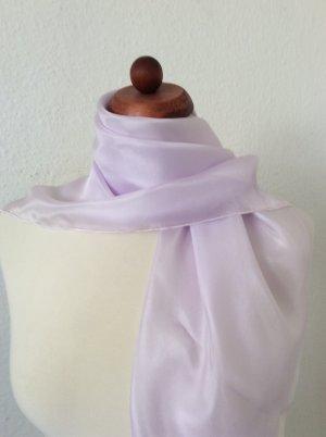 Handarbeit Foulard en soie lilas-mauve