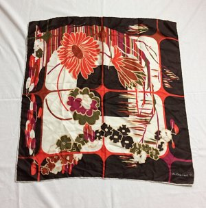 Vintage Silk Cloth multicolored silk