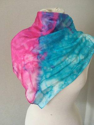handmade Zijden doek veelkleurig Zijde