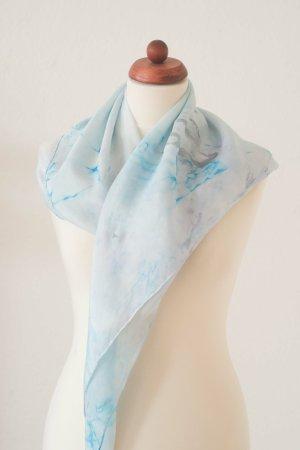 Handarbeit Silk Cloth light grey-azure silk