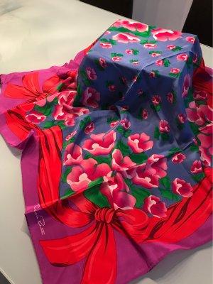 Oscar de la renta Foulard en soie multicolore