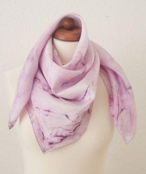 Handarbeit Silk Cloth violet-pink silk
