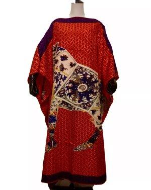 Écharpe en soie multicolore