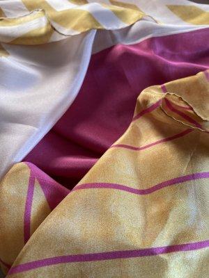 Emmanuelle Silk Bufanda de seda multicolor