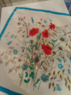 van Laack Silk Cloth multicolored