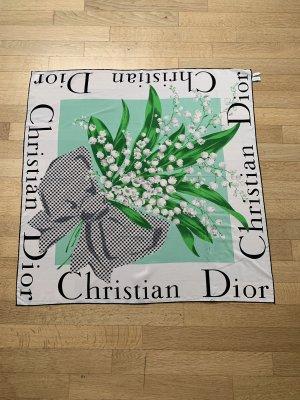 Christian Dior Foulard en soie multicolore