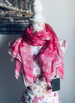 Seidentuch visetos stripe stole Sugar Pink -MCM-