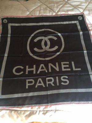 Chanel Foulard en soie noir