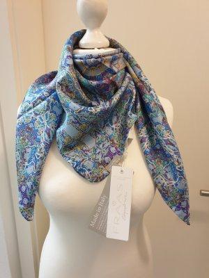 Fraas Pañuelo de seda violeta-azul celeste