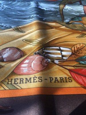 Hermès Foulard en soie multicolore