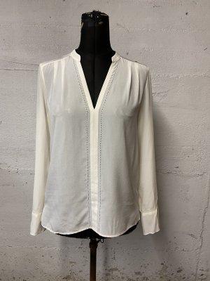 Comptoir des Cotonniers Blusa a tunica bianco sporco Seta