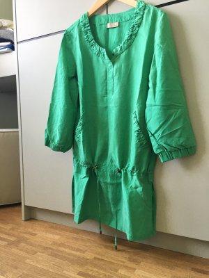 Apriori Tunic Blouse green silk
