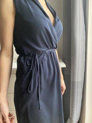 Seidig fallendes Kleid von Esprit in dunkelblau