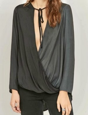 Urban Outfitters Shirt Blouse slate-gray