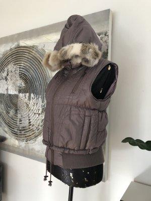 nü by staff-woman Capuchon vest roségoud