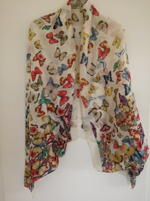 seidiges Tuch Schmetterlinge