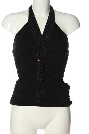 Seite*1Girl Blusa sin espalda negro look casual