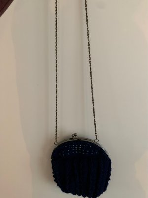 Minibolso azul oscuro