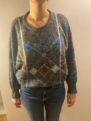selbst gestrickter Pullover von Oma