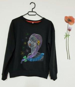 selbst gezeichneter Pullover