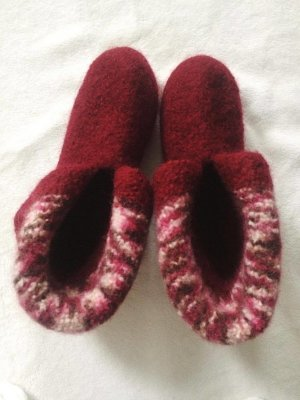 Handmade with Love Slipper Socks multicolored