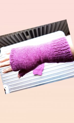 Fingerless Gloves lilac