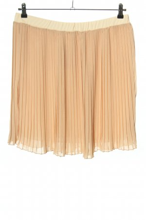 Select Pleated Skirt natural white casual look