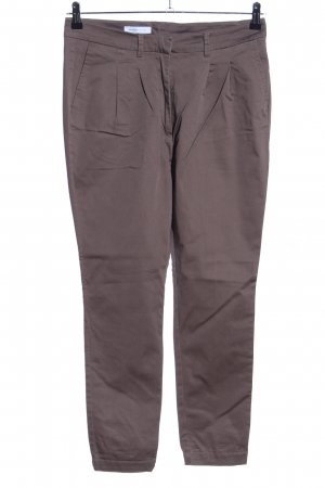 Selected Bundfaltenhose braun Casual-Look