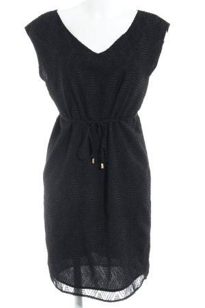Selected Femme Abendkleid schwarz Allover-Druck Elegant