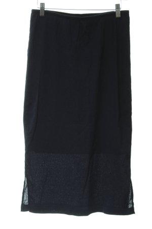 Selected Femme Bleistiftrock dunkelblau Business-Look