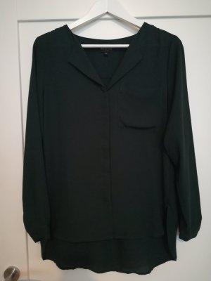 Selected Femme Bluse dunkelgrün Gr. 36