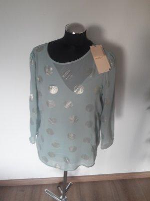 selected femme bluse gr. 38 mint
