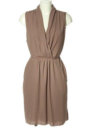 Selected Femme Blusenkleid braun Business-Look