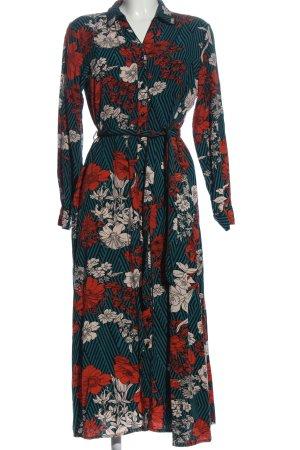Selected Femme Blusenkleid Blumenmuster Casual-Look