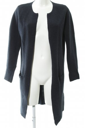 Selected Femme Kardigan ciemnoniebieski Wzór w paski W stylu casual