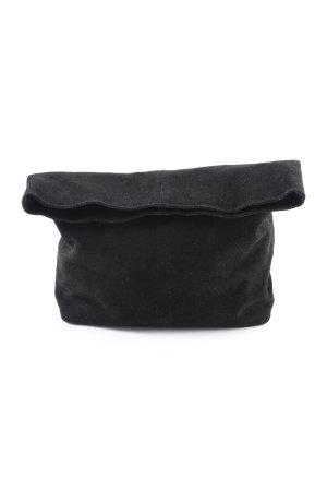 Selected Femme Clutch schwarz schlichter Stil