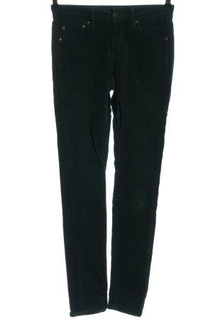 Selected Femme Corduroy broek zwart casual uitstraling