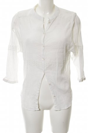 Selected Femme Crash-Bluse weiß Casual-Look
