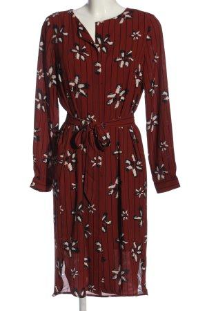 Selected Femme Hemdblusenkleid abstraktes Muster Casual-Look