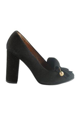 Selected Femme High Heels schwarz Business-Look