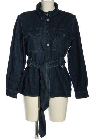 Selected Femme Chemise en jean bleu style décontracté