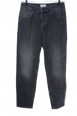 Selected Femme Karottenjeans hellgrau Casual-Look