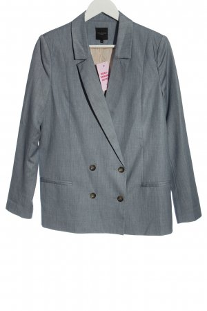 Selected Femme Klassischer Blazer hellgrau Business-Look