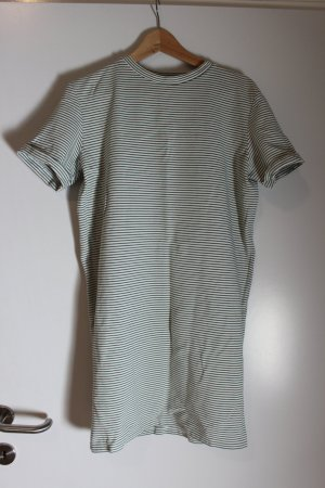 Selected Femme Shirt Dress white-green