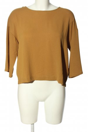 Selected Femme Kurzarm-Bluse hellorange Casual-Look