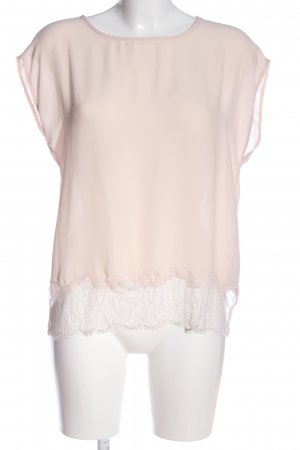 Selected Femme Kurzarm-Bluse creme Business-Look