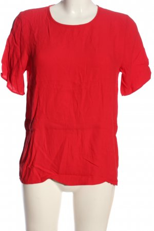 Selected Femme Kurzarm-Bluse rot Casual-Look