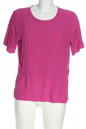 Selected Femme Kurzarm-Bluse pink Casual-Look